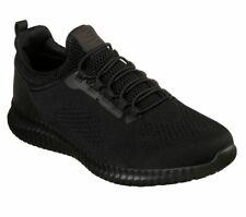 Zapatos Negros Skechers Ancho Ajuste De Trabajo Para Hombre Slipon Antideslizante Memoria Foam 77188