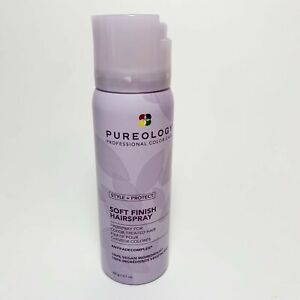 Pureology Style+Protect Soft Finish Hair Spray 2.1 oz/ 60 mL Travel Size NEW