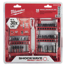 MILWAUKEE 48-32-4004 32pc Shockwave Impact-Driver Bit Set