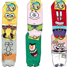 Square Pants Spongebob socks for Woman or Kid, 6 Pair of socks