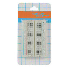 Mini 400 Points Solderless Prototype PCB Breadboard for Experiments/Projects