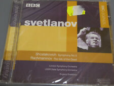EVGENY SVETLANOV <  Shostakovich / Rachmaninov BBC  > SEALED (CD)