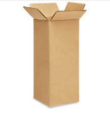 50 4x4x12 Cardboard Paper Boxes Mailing Packing Shipping Box Corrugated Carton