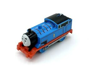 2013 THOMAS THE TRAIN & FRIENDS TRACKMASTER MOTORIZED #1 BLUE TANK ENGINE TESTED