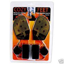 Battery Heated Shoe Insoles Foot Warmer Electric Heater Feet Boot Socks Warm