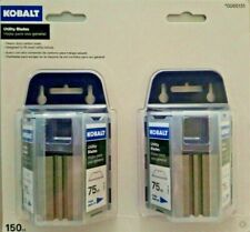 Kobalt - 84-0390 -150-Pack Carbon Steel Utility Replacement Blade