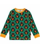 Maxomorra ~ Stag beetle organic long sleeve pyjamas2 3 4 5 6 7 8 9 10