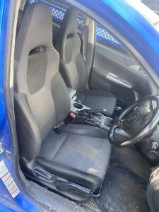 Subaru Impreza Mk3 Fronts Seats 2008-2013 Sport Seats