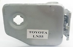 FUEL PETROL GAS FLAP DOOR COVER + HINGE for TOYOTA HILUX LN55 STYLESIDE TUB