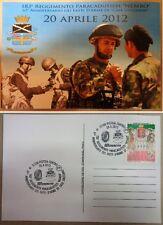 """Cartolina 67° ANNIVERSARIO FATTI D'ARME """"CASE DI GRIZZANO - 183° NEMBO"""" (Rarità)"""