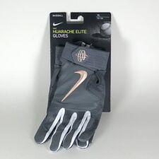 Nike Men's Huarache Elite Baseball Gloves Leather Grey/Copper Large Gb0448-917