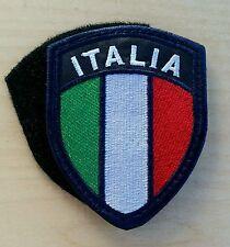 Patch Toppa Stemma Ricamato Scudetto Italia cm 7cm X 9cm. Con Velcro cucito