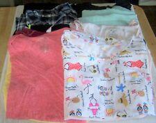 womens plus size 2X clothing lot tanks shorts shirts