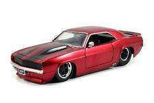 JADA 1:24 Display BIG TIME MUSCLE - 1969 Chevy Camaro Diecast Car Red 97673-PD