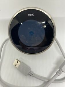Nest Model O2A 2nd Generation Programmable Thermostat Stainless Steel