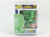 Marvel Avengers Infinity War Thanos Green #289 Special Edition Funko POP Figure