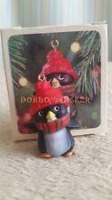 Hallmark 1981 Perky Penguin Tree Trimmer Christmas Ornament