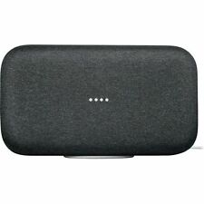 Google Home Max - Charcoal- Smart Home Automation Voice Activated Speaker