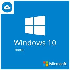 Windows 10 Home Lifetime Use Activation Key 32/64-Bit Genuine Product Code