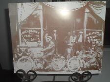 Vintage HARLEY DAVIDSON Motorcycle Sepia Photo 2 Easy Riders C1930