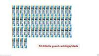 50 pc Gillette guard Patrone Gillette Wache Razor gilette gilete Safty Klinge