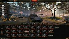 Largest World of Tanks/World of Warships/World of Warplanes - Fun-Account