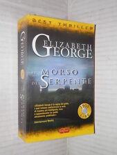 IL MORSO DEL SERPENTE Elizabeth George Super Pocket Best Thriller 2001 romanzo