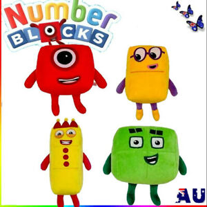 Numberblocks Plush Toy Educational Stuffed Number Blocks Doll Kids Gift