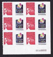 FRANCE  N° 3729Aa ** MNH Bloc 6 timbres Personnalisés, TB, cote: 48 € (lot1171)