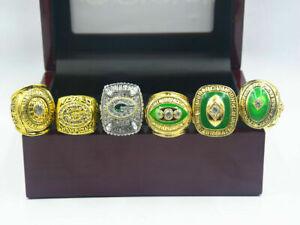 6PCS Green Bay Packers Championship Ring  //-