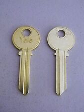 Original Yale Key Blank GA Keyway 6 Pin- 2 Keys