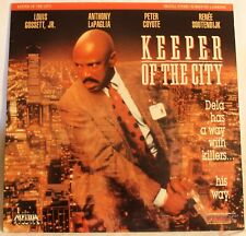 LASER DISC KEEPER OF THE CITY LOUIS GOSSETT JR