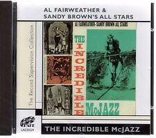 Al Fairweather & Sandy Brown's All Stars - Incredible McJazz (brand new CD 2006)