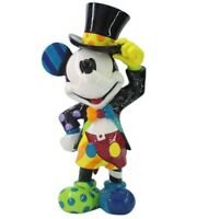 Romero Britto Disney Mickey Mouse with Top Hat Figurine 6006083 New