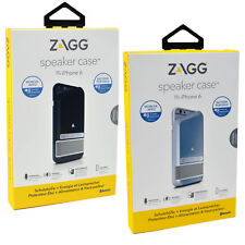 Genuine ZAGG iPhone 8/7/6/6S Bluetooth Speaker MFi Battery Charger Case Cover