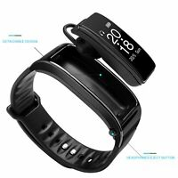 IY3 Smart Watch Bracelet mit Bluetooth Kopfhörer Heart Rate Fitness Tracker