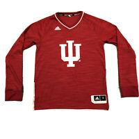 NCAA Indiana University Hoosiers Small Adidas Basketball Shirt Jersey S Red IU
