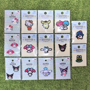 Sanrio Cute Hello Kitty My Melody Kuromi Wappen Embroidered Patch Badge japan