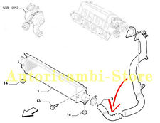 51792357 MANICOTTO INTERCOOLER COLLETTORE ASPIRAZIONE FIAT BRAVO 1.6 1.9 MJET