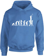 Evolution of Rugby, Ball Sports inspired Kids Printed Hoodie Hooded New Pullover