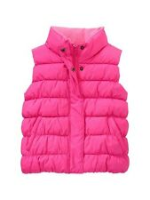 NWT New Gap Kids Girl Warmest Neon Pink Puff Vest M 8