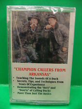 Champion Callers From Arkansas Kent Cullum Kerry Milner Duck Hunting 1992 Tape