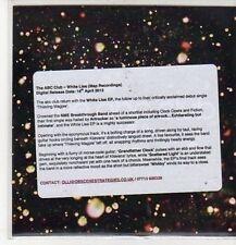 (CZ484) The ABC Club, White Lies - 2012 DJ CD