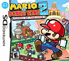 New Classic Y fold Mario vs.Donkey Kong 2: March of the Minis (Nintendo DS,2006)