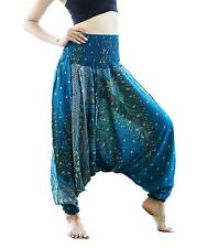 Harem Casual Trouser Boho Baggy Men Woman Yoga Gypsy Indian Hippie Beach Pants 9