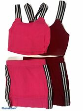 Toddler Baby Girl Clothing Strap Crop Top + Mini Skirt Outfit Set 2Pcs New