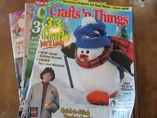 Lot of 2 Crafts 'n Things Magazine -july 2002,september 2002 crafting april 1993