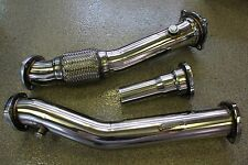 "Audi TT 1999-2006 QUATTRO Mk1 Turbo 3"" 76mm Downpipe Exhaust Down 3pc Pipe"