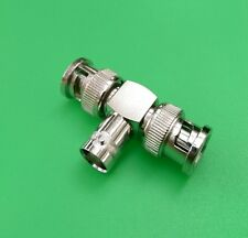 (10 PCS) BNC Double Male to BNC Female Connector - USA Seller