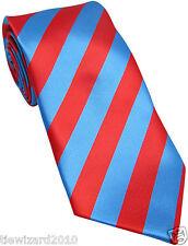 Nuevo Diseñador Azul&Rojo Corbata de rayas